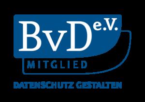 Mitglied des Berufsverband der Datenschutzbeauftragten Deutschlands - BvD e.V.